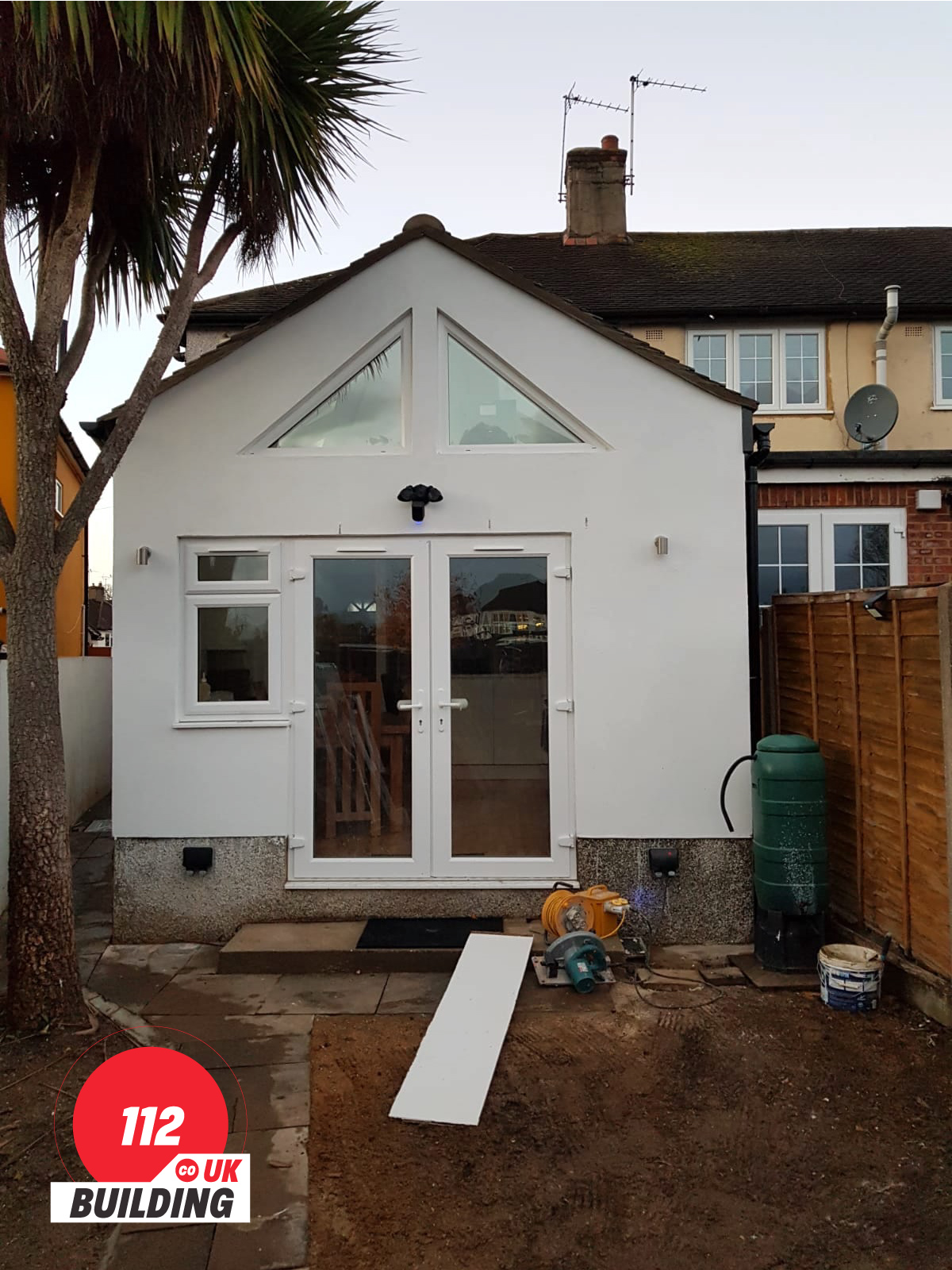 House extension builder in London